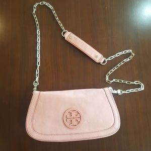 Tory Burch Gold link Crossbody/Clutch